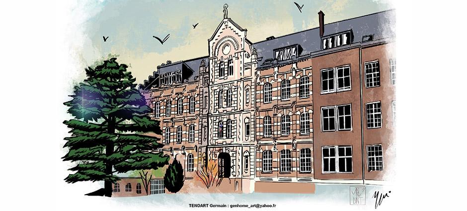 Collège Saint-Jean Baptiste de La Salle au 6 rue Ducange 80000 Amiens