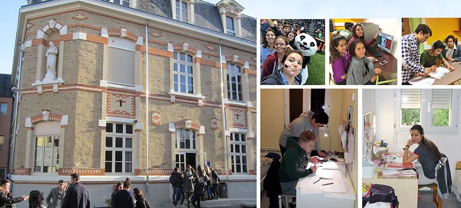 49000 - Angers - Internat du Lycée Privé Saint-Benoît/Sainte-Agnès (site Université)