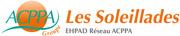 Etablissement d'Hébergement pour Personnes Agées Dépendantes - 69740 - Genas - EHPAD Les Soleillades (Groupe ACPPA)