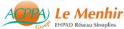 Etablissement d'Hébergement pour Personnes Agées Dépendantes - 95000 - Cergy - EHPAD Le Menhir - Groupe ACPPA (Réseau Sinoplies)