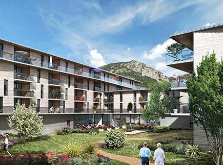 Résidences avec Services - 05100 - Briançon - Domitys Les Aiglons Blancs - Résidence avec Services