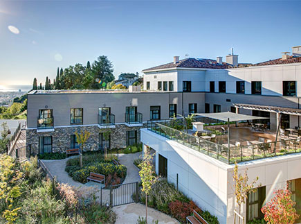 Etablissement d'Hébergement pour Personnes Agées Dépendantes - 06800 - Cagnes-sur-Mer - Villa des Collettes LNA Santé