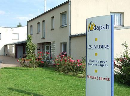 Résidences avec Services - 08440 - Vivier-au-Court - Résidence Autonomie Adapah Les Jardins
