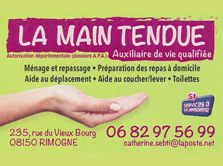 Services d'Aide et de Maintien à Domicile - 08150 - Rimogne - La Main Tendue
