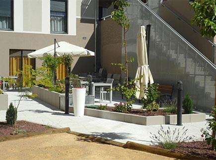 Etablissement d'Hébergement pour Personnes Agées Dépendantes - 11100 - Narbonne - Résidence Les Mimosas LNA Santé