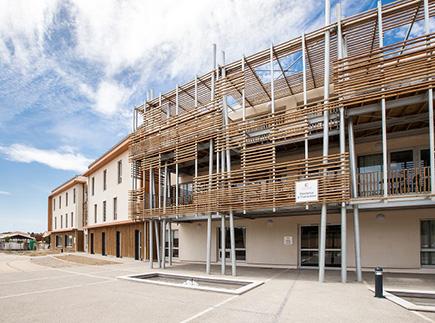 Etablissement d'Hébergement pour Personnes Agées Dépendantes - 11370 - Leucate - Colisée - Résidence La Tramontane