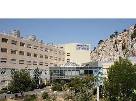 Hôpital - Centre Hospitalier (CH) - 13273 - Marseille 09 - Hôpital Privé Clairval (Ramsay - Générale de Santé)