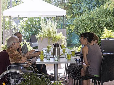 Etablissement d'Hébergement pour Personnes Agées Dépendantes - 13720 - La Bouilladisse - EHPAD Les Jardins d'Athéna Groupe Hermes Santé