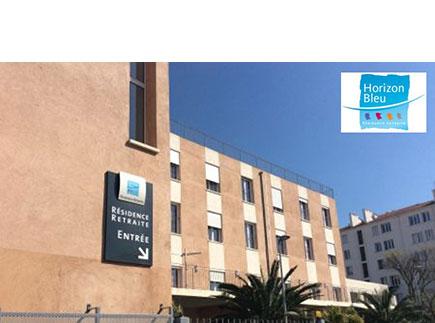 Etablissement d'Hébergement pour Personnes Agées Dépendantes - 13004 - Marseille 04 - EHPAD Horizon Bleu