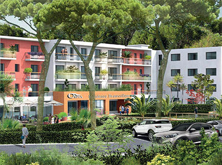Etablissement d'Hébergement pour Personnes Agées Dépendantes - 13009 - Marseille 09 - EHPAD Résidence Les Jardins de Beauvallon