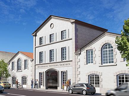 Résidences avec Services - 16100 - Cognac - Résidence avec Services Les Girandières