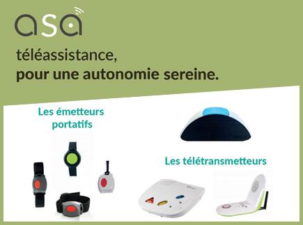Services d'Aide et de Maintien à Domicile - 17110 - Saint-Georges-de-Didonne - A.S.A Téléassistance - A.S.A Services à la Personne
