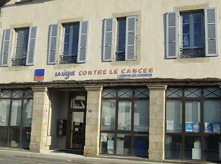 Accompagnement Cancer - 19000 - Tulle - Ligue contre le Cancer - Comité de la Corrèze (19)