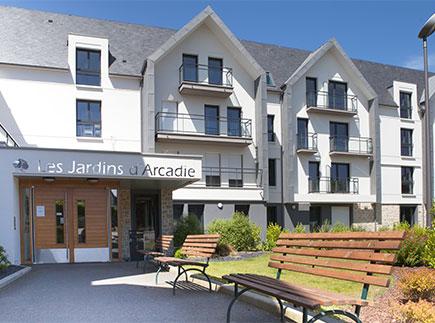 Résidences avec Services - 22370 - Pléneuf-Val-André - Les Jardins d'Arcadie Pléneuf Val-André