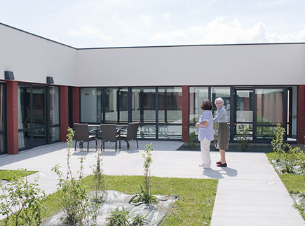 Etablissement d'Hébergement pour Personnes Agées Dépendantes - 23150 - Ahun - EHPAD Résidence Le Mas Faure (Fondation Partage et Vie)