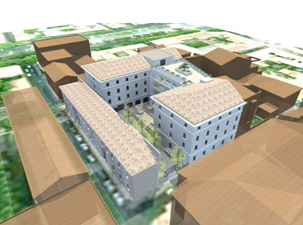 Etablissement d'Hébergement pour Personnes Agées Dépendantes - 30900 - Nîmes - Maison de Santé Protestante, EHPAD Les Terrasses de la Rue de Sauve