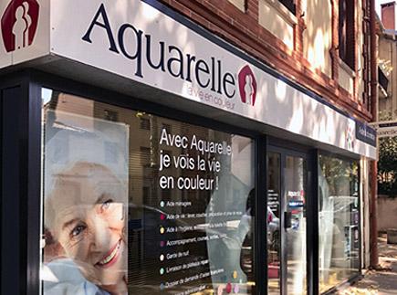 Services d'Aide et de Maintien à Domicile - 31400 - Toulouse - Aquarelle