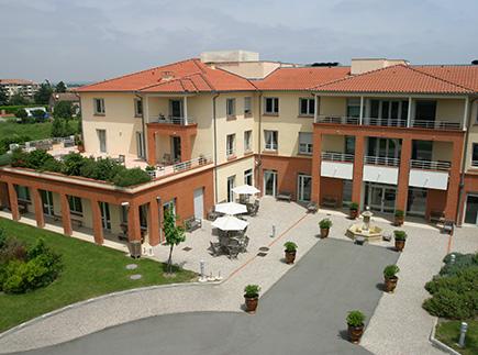 Etablissement d'Hébergement pour Personnes Agées Dépendantes - 31200 - Toulouse - EHPAD Résidence Domaine de Borderouge