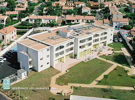 Etablissement d'Hébergement pour Personnes Agées Dépendantes - 34150 - Florensac - EHPAD Les Lavandes