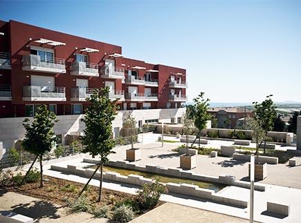 Résidences avec Services - 34200 - Sète - Les Jardins d'Arcadie Sète