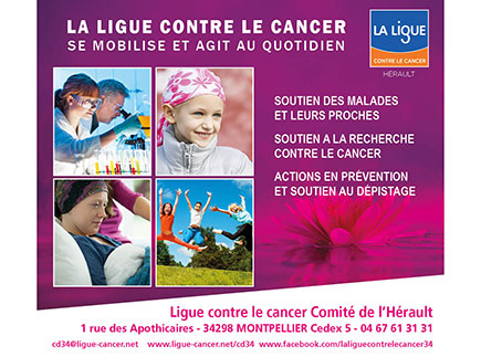 Prévention Cancer - 34298 - Montpellier - Ligue Nationale contre le Cancer, Comité de l'Hérault