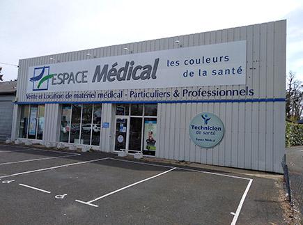 Matériel Médical - 37510 - Ballan-Miré - Espace Médical Tours