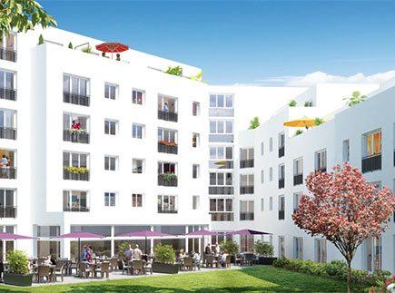 Résidences avec Services - 44100 - Nantes - Résidence avec Services Les Girandières