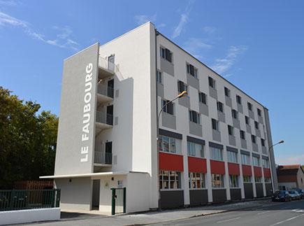 Résidence Sociale - 51000 - Châlons-en-Champagne - HaJeCC - Habitat Jeune Châlons-en-Champagne