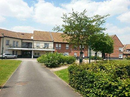Résidences avec Services - 59890 - Quesnoy-sur-Deûle - Résidence d'Appartements Adaptés Les Bleuets LBA