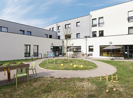 Etablissement d'Hébergement pour Personnes Agées Dépendantes - 62215 - Oye-Plage - Colisée - Résidence Le Château du Bois