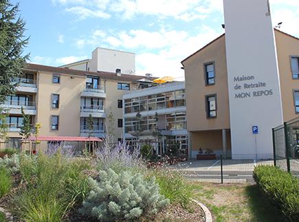 Etablissement d'Hébergement pour Personnes Agées Dépendantes - 63190 - Lezoux - Maison de Retraite - EHPAD Mon Repos