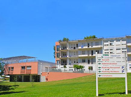 Centre de Soins de Suite - Réadaptation - 64250 - Cambo-les-Bains - Clinique SSR Ursuya (Centre Médical Léon Dieudonné)