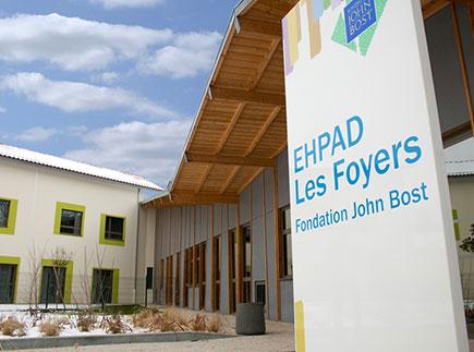 Etablissement d'Hébergement pour Personnes Agées Dépendantes - 64140 - Lons - Fondation John BOST - Les Foyers