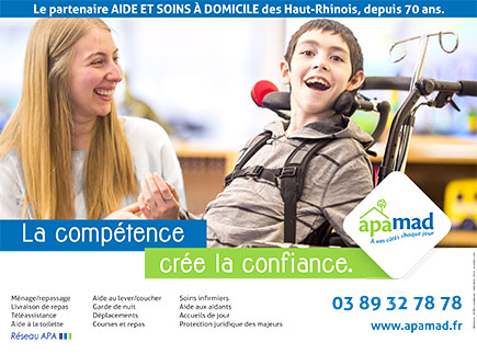 Service d'Actions Médico Sociales - 68060 - Mulhouse - APAMAD