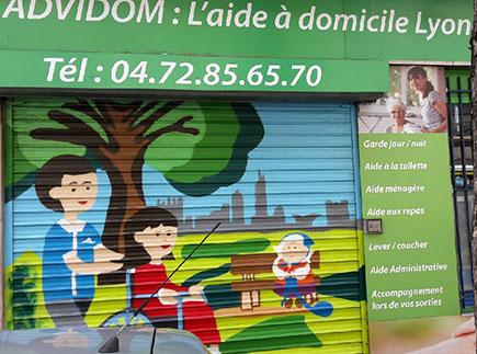 Services d'Aide et de Maintien à Domicile - 69009 - Lyon 09 - ADVIDOM