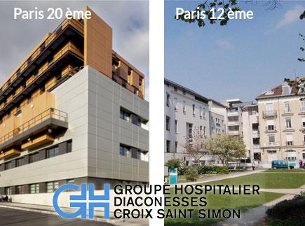Groupe Hospitalier Diaconesses - Croix Saint-Simon