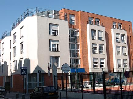 Etablissement d'Hébergement pour Personnes Agées Dépendantes - 75020 - Paris 20 - Korian Les Amandiers