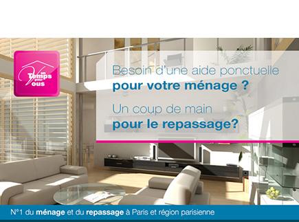 Services d'Aide et de Maintien à Domicile - 75017 - Paris 17 - Un Temps pour Vous