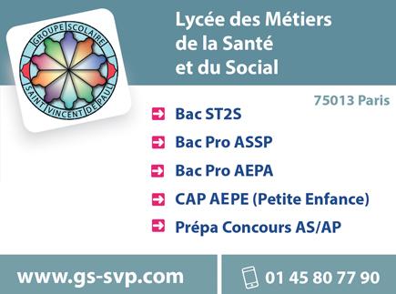 Groupe Scolaire Saint-Vincent-de-Paul Lycée Polyvalent Privé Notre-Dame