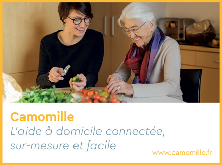 Services d'Aide et de Maintien à Domicile - 75011 - Paris 11 - Camomille