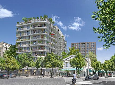 Résidences avec Services - 75016 - Paris 16 - Résidence Services Seniors Paris - Auteuil Cogedim Club®