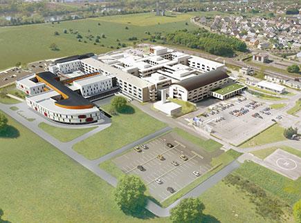 Hôpital - Centre Hospitalier (CH) - 76410 - Saint-Aubin-lès-Elbeuf - CHI Elbeuf-Louviers-Val de Reuil