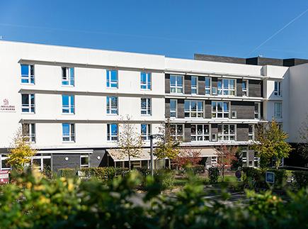 Etablissement d'Hébergement pour Personnes Agées Dépendantes - 77260 - La Ferté-sous-Jouarre - Résidence La Meulière de la Marne LNA Santé