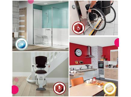 Services d'Aide et de Maintien à Domicile - 95680 - Montlignon - Dom et Vie - Aménagement du domicile