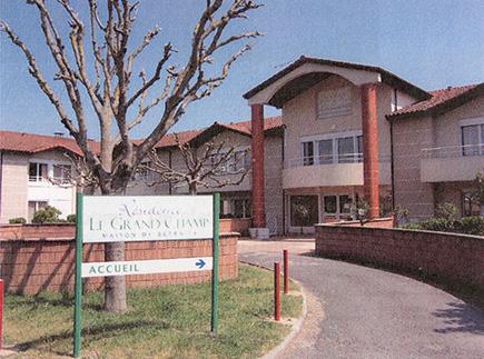 Etablissement d'Hébergement pour Personnes Agées Dépendantes - 81150 - Lagrave - Résidence Le Grand Champ