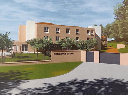 Etablissement d'Hébergement pour Personnes Agées Dépendantes - 82130 - Lafrançaise - EHPAD - Résidence du Lac