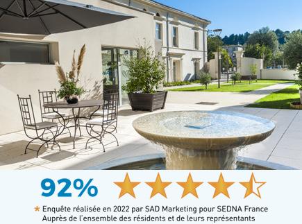 Etablissement d'Hébergement pour Personnes Agées Dépendantes - 84100 - Orange - Résidence Le Sacré-Cœur