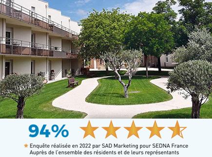 Etablissement d'Hébergement pour Personnes Agées Dépendantes - 84150 - Violès - EHPAD Résidence La Sousto
