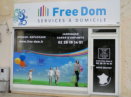 Services d'Aide et de Maintien à Domicile - 85000 - La Roche-sur-Yon - Free Dom La Roche sur Yon