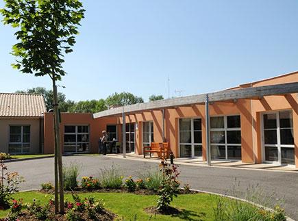 Maison de Retraite Médicalisée - 86430 - Luchapt - EHPAD Fondation Partage et Vie - Résidence Richelot-Lassé